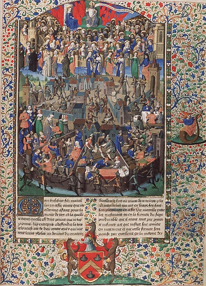 Iluminuras medievais | O Universo Numa Casca de Noz | Página 3